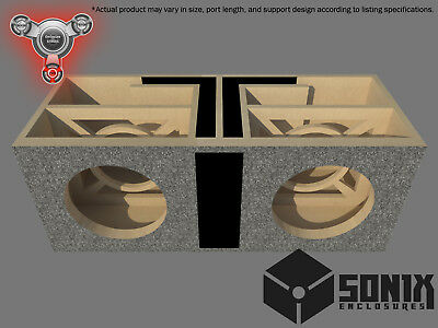 £179.71 • Buy Stage 2 - Dual Ported Subwoofer Mdf Enclosure For Jl Audio 12w6v2 Sub Box