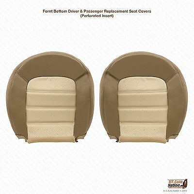 $236.49 • Buy 2003 Ford Explorer Eddie Bauer Driver & Passenger Bottom Leather Seat Cover Tan