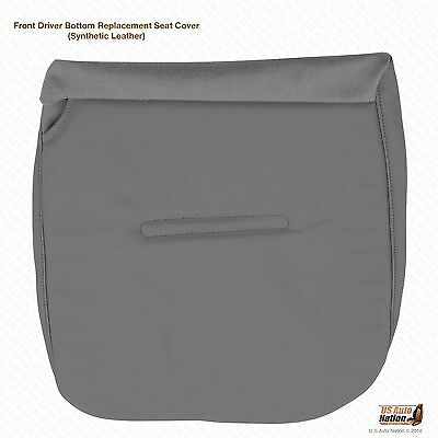 $90.49 • Buy 2005 2006 2007 Ford F250 F350 F450 F-550 XL Driver Bottom Seat Cover Vinyl Gray