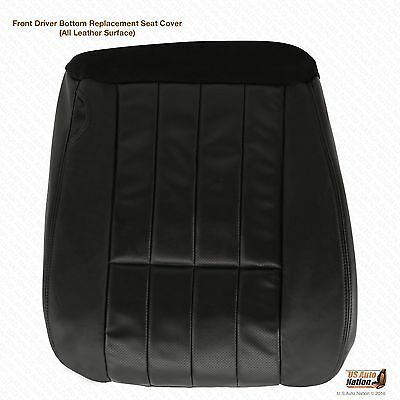 $140.50 • Buy 2005 Ford F-250 F-350 Harley Davidson Driver Bottom Leather Seat Cover Black