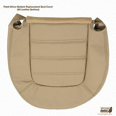 $120.50 • Buy 2002 Ford Explorer Front Driver Bottom Leather Seat Cover-Medium Parchment  Tan