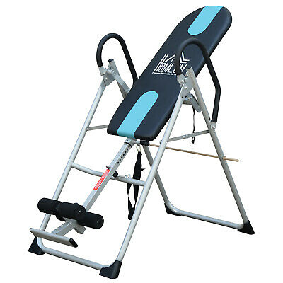 £84.99 • Buy HOMCOM Foldable Therapy Gravity Inversion Table AB Exercise Bench Home Fitness