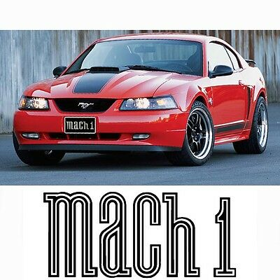 $67.49 • Buy Fits MUSTANG MACH 1 CHIN SPOILER BOTTOM LIP 99-04 GT, V6 Factory Fit N Finish