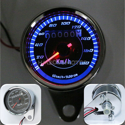 $20.90 • Buy Motorcycle LED Backlit Speedometer For Suzuki Intruder VS 700 750 800 1400 1500