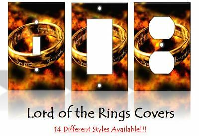 Lord Of The Rings LOTR Gollum Frodo Light Switch Covers Home Decor Outlet  • 4.38£