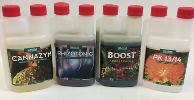 Canna 250ml Stimulant Pack Boost,PK 13/14,Rhizotonic,Cannazym • 52.99£