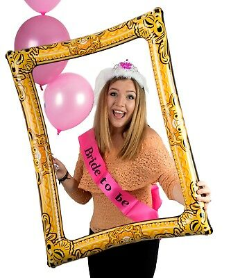 Giant Inflatable Blow Up Selfie Photo Frame - Photo Booth Novelty Fun Party • 3.45£