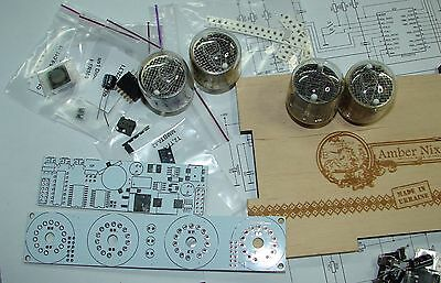 Nixie Tube Clock Kit 2.3 With IN-4 Tubes In Wood Box • 40.67£