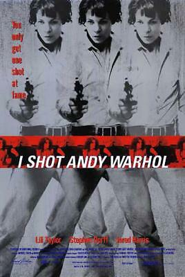 $24.99 • Buy I SHOT ANDY WARHOL - 13.5 X20  Original Promo Movie Poster  Lili Taylor 1996
