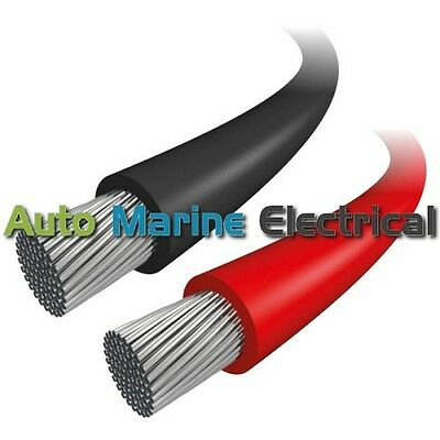 £2.82 • Buy Marine Tinned 6.0mm² Single Core Thinwall Cable - 50 Amps - All Lengths