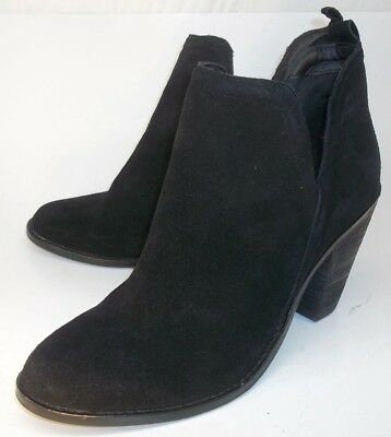 $ CDN46.04 • Buy Nine West SIENNA Womens Ankle Boots US 11 M Black Suede Bootie 1744