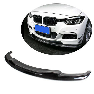 AU664.37 • Buy Carbon Fiber Front Lip Spoiler For BMW 3Series F30 320i M Tech Bumper Sedan12-17