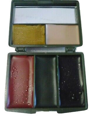 Camouflage Military Face Paint 5 Colour Pallet Waterproof • 6.62£