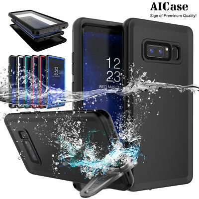 AU15.89 • Buy For Samsung Galaxy S9 Note8 S8+ Waterproof Case Shockproof Underwater Full Cover