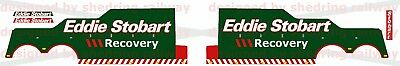 1/76 Code3 Eddie Stobart Recovery DECALS ONLY For Oxford Diecast Recovery Trucks • 10£