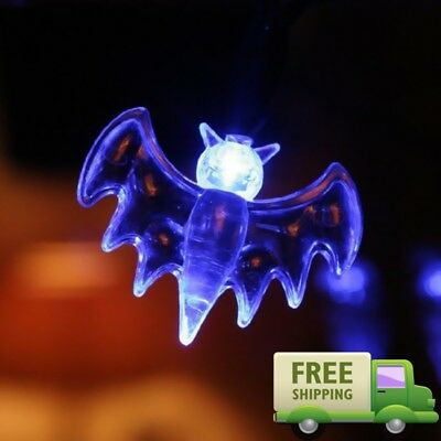 $ CDN12.09 • Buy Halloween 2017 Props Party Scary Indoor Decorations LED Fairy String Lights Blue