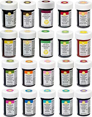 Wilton Concentrated Icing Colour Gel Paste 28g For Cake Decorating • 3.99£