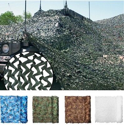 UK Camouflage Camo Net Cover Netting Hide Hunting Military Army Woodland Camp • 7.59£