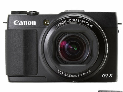 AU999 • Buy Canon Powershot G1X Mark II 12.8 MP Complete Battery And Charger + 64GB SD CARD