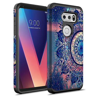 AU10.47 • Buy For LG V30 / LG V30 Plus Hybrid Graphic Fashion Silicone Case