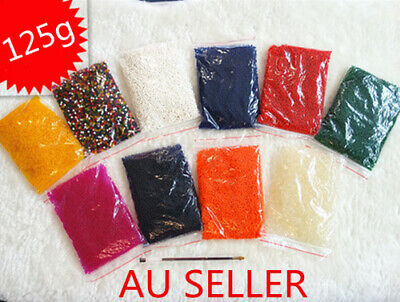 AU2 • Buy 125g Water Crystal  Balls Jelly Gel Beads For Plants Orbeez MultiColor Large 000