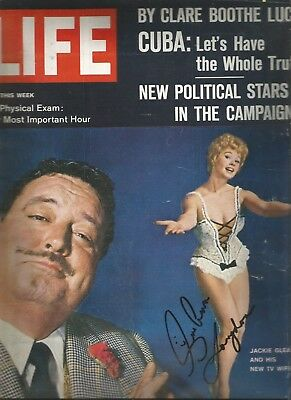 $24.99 • Buy Sue Ane Langdon Signed 1962 Life Magazine Guide For Married Man Roustabout Elvis