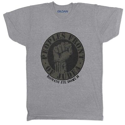 £6.99 • Buy Peoples Front Of Judea Life Of Brian T Shirt 80's Monty Python Film Movie Grey