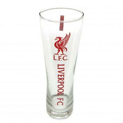 Liverpool FC Official Football Gift Tall Beer Glass • 11.99£
