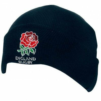 £9.99 • Buy England RFU Official Rugby Gift Knitted Hat - A Great Christmas / Birthday Gift