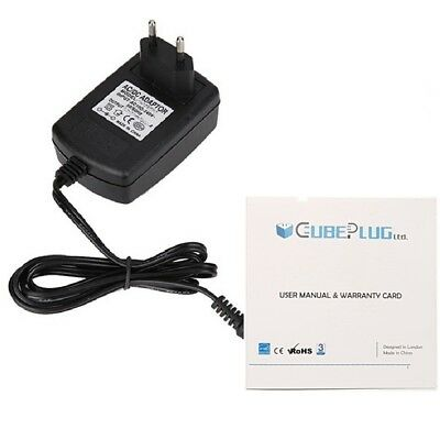 Replacement Power Supply For 12v DC Yamaha PSR-E423 Keyboard Lead 1A EU • 7.89£