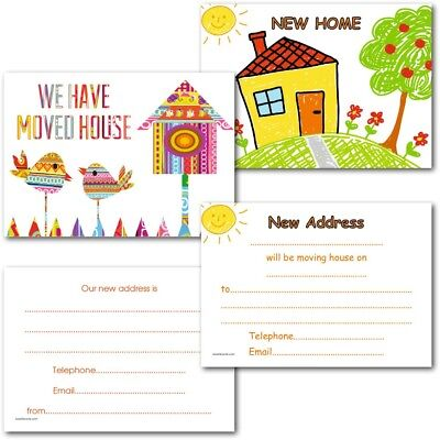 Change Of Address Cards New Home Cards House Moving Cards Postcards Pack Of 20 • 4.99£