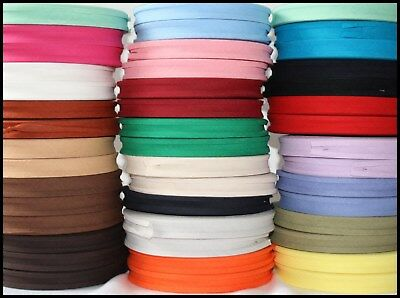 BIAS BINDING TAPE X 5 METRES (CHOICE OF COLOURS) 16MM And 12MM • 2£