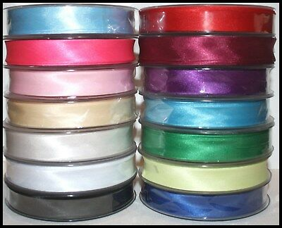Satin Bias Binding Tape X 5 Metres (choice Of Colours) 19mm - Assorted Colours • 2£