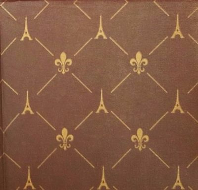 4 Single Paper Decoupage Napkins. French Style Brown, Paris, Eiffel Tower - 538 • 1.40£