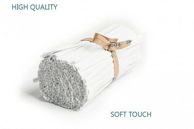 Paper Covered Soft Touch  Wire Ties Used On Food Bags • 3.47£