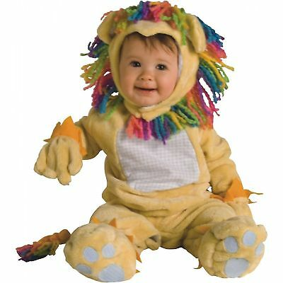 £14.18 • Buy Rubie's Fearless Lion Baby Costume! Yellow Rainbow Mane New [size 6-12 Months]
