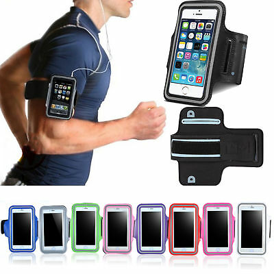 AU3.92 • Buy For IPhone XS Max XR X 8 7 6S 6 Armband Case Sport GYM Running Exercise Arm Band