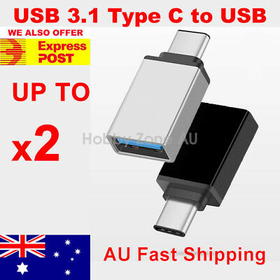 AU12.35 • Buy USB 3.1 Type C Male To USB 3.0 A Female Converter USB-C Data Cable OTG Adapter