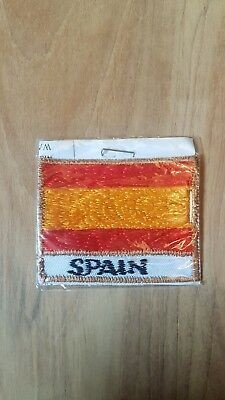 Country Flag Large SEW ON Embroidered Cloth Patch Badge Appliqué ▪ 5.5cm X 4cm • 1.49£