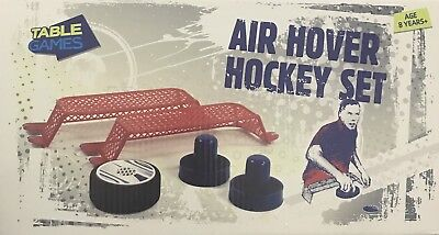 New Table Games Air Hover Hockey Set Or Table Tennis Set Portable • 8.99£