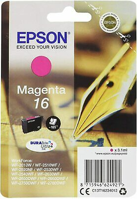 £10.88 • Buy Epson Pen And Crossword 16 (Yield 165 Pages) DURABrite Ultra Ink Cartridge (Mage