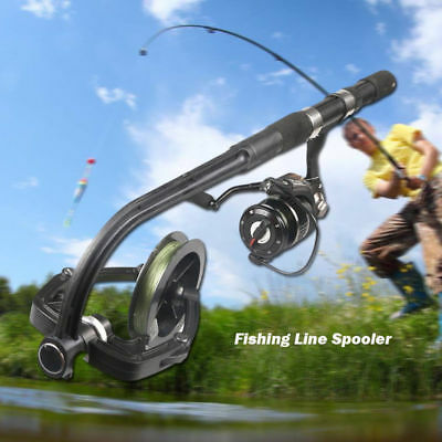 AU37.99 • Buy Portable Fishing Line Spooler System Machine Line Reels Spooling Winder Station
