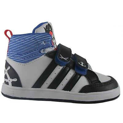 promo code 9858f ec5d2 ADIDAS HOOPS CMS MID INF BIANCO Sneakers Scarpe Alte Bambino Palestra  GC5737 • 35.90€