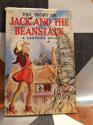 The Story Of JACK AND THE BEANSTALK By Ladybird / Childrens / 1960 - TBLO • 16.99£