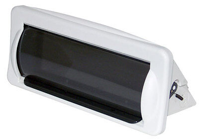 New Pyle Plmrcw2 White Marine Boat Radio Stereo Water Resistant Cover Housing • 15.99$