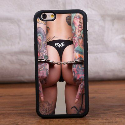 AU10.66 • Buy Hot Sexy Tattoo Girl TPU Silicone Phone Case Cover For IPhone 7 8 Plus XS XR 11