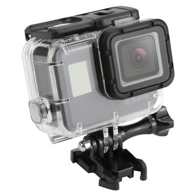 $ CDN25.36 • Buy SHOOT 45m Waterproof Case For Gopro Hero 5 Black Edition Camera With Base Mount