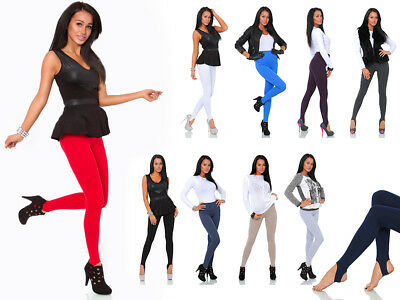 £6.99 • Buy Women's Warm Thick Stretchy Stirrup Style Footless Leggings Pants Soft Nap LS