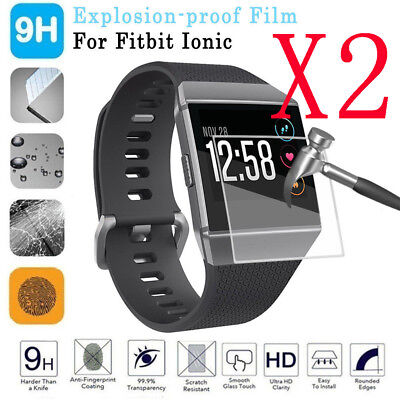 $ CDN2.98 • Buy 2x Explosionproof Anti-Scratch Screen Protector Cover HD Film For FitBit Ionic