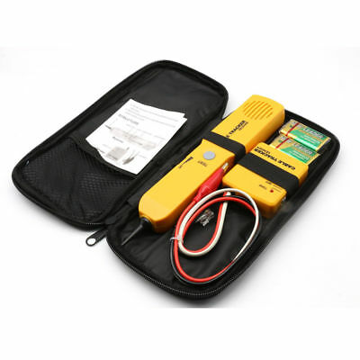 Wire Cable Tracer Tone Generator Finder Probe Tracker Network Tester Kit Phone • 16.13£
